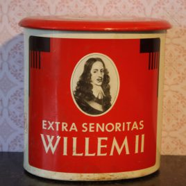 Sigarenblik Willem II