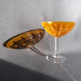 Boheems kristal coupe